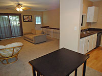 View details of this 2-bedroom, 2-bathroom, updated townhome for sale in Quivira Falls