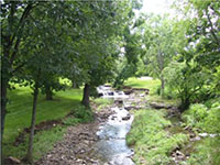 Stream Near Quivira Falls Townhomes
