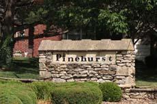 Pinehurst Subdivision in Overland Park