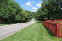 Quiet Street in Overland Park, KS