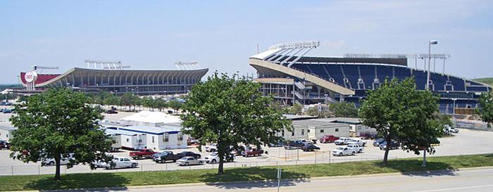 Kansas City Kaufmann Cheifs Royals Stadium
